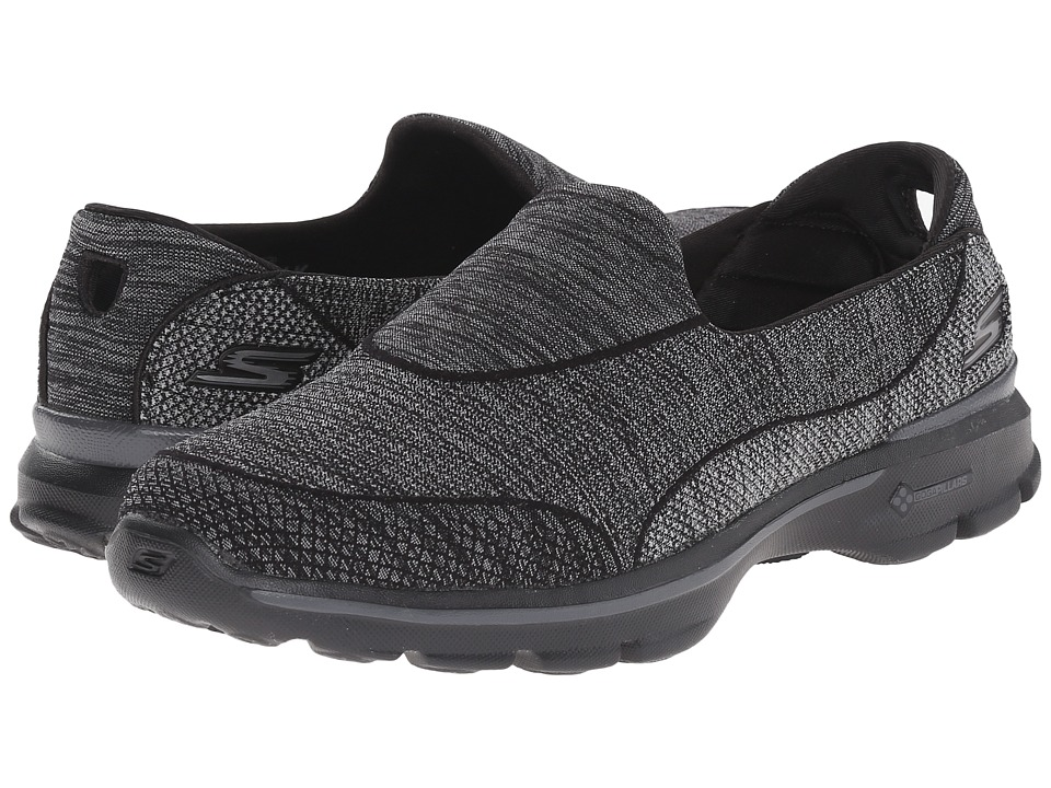 SKECHERS Performance - Go Walk 3 - Super Sock 3 (Black) Women's Walking Shoes