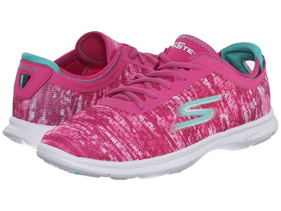SKECHERS Performance - Go Step - One-Off (Pink) Women's Walking Shoes