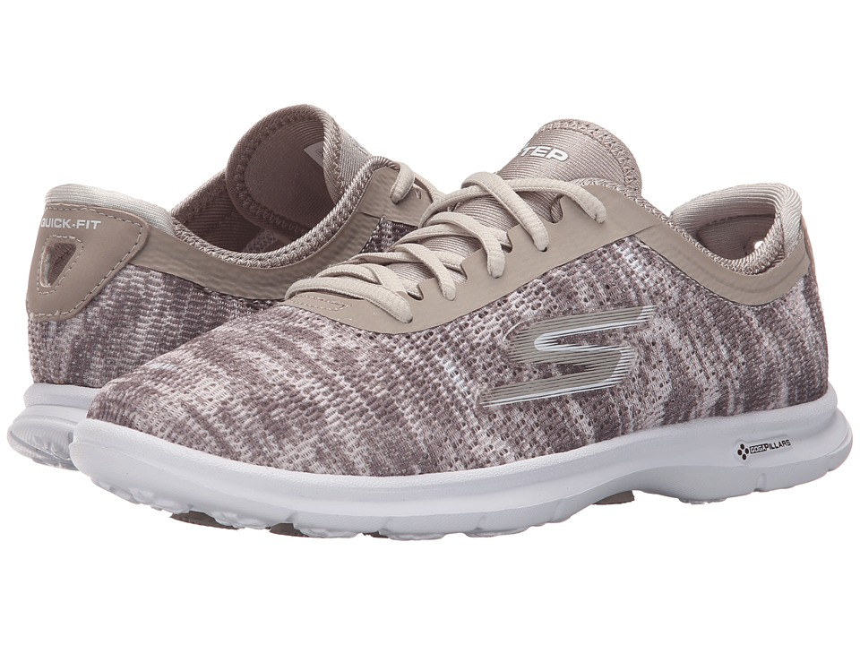 SKECHERS Performance - Go Step - One-Off (Taupe) Women's Walking Shoes
