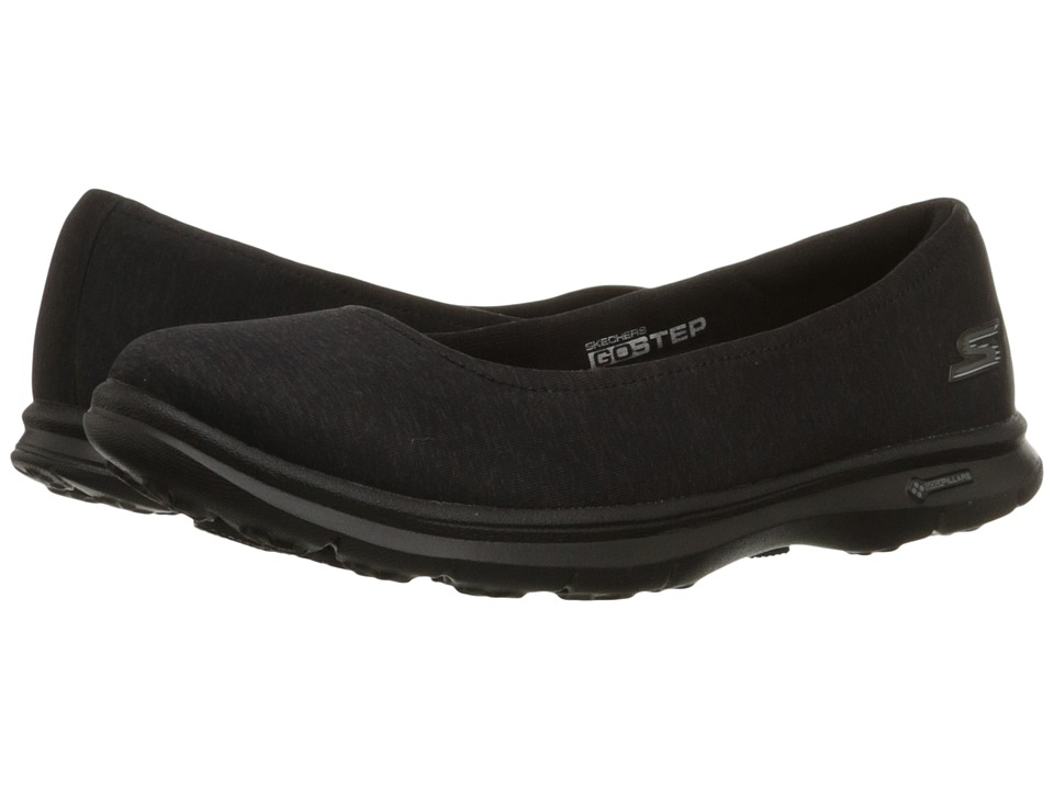 SKECHERS Performance - Go Step - Challenge (Black) Women's Walking Shoes