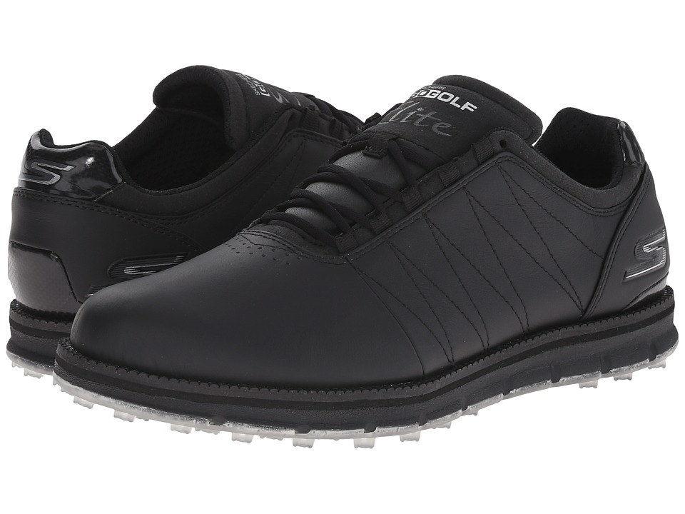 SKECHERS Performance - Go Golf Tour Elite (Black) Men's Golf Shoes