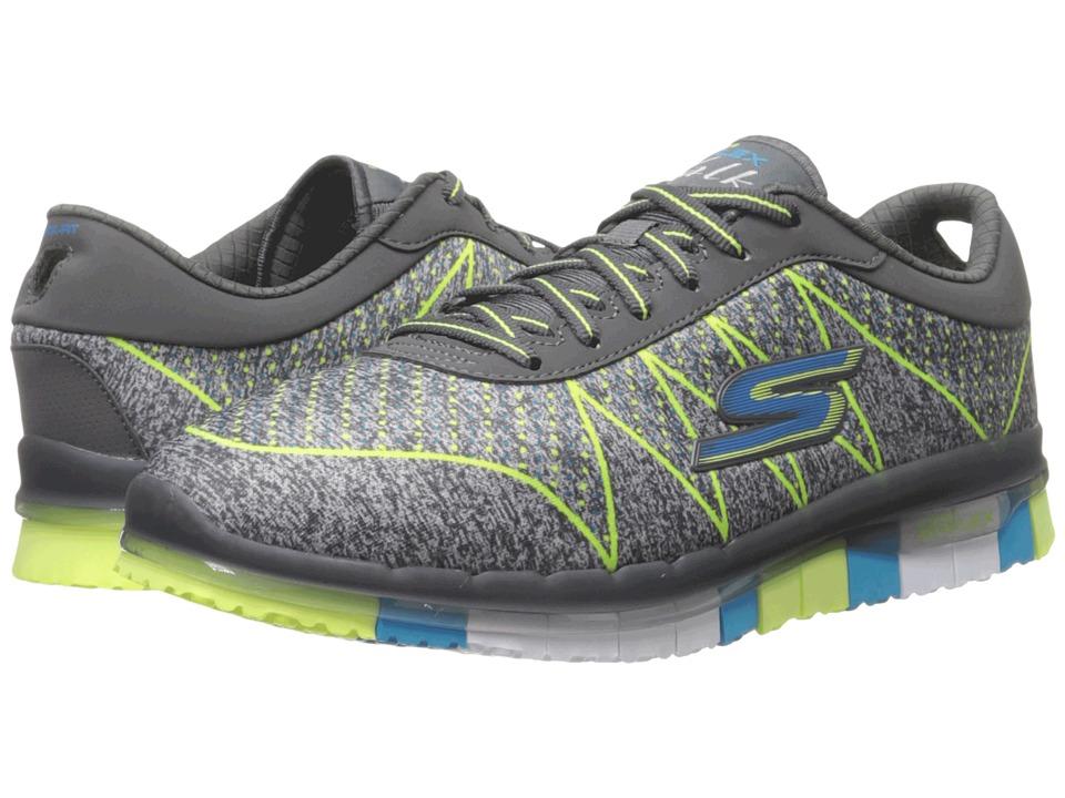 SKECHERS Performance - Go Flex - Ability (Charcoal/Multi) Women's Shoes