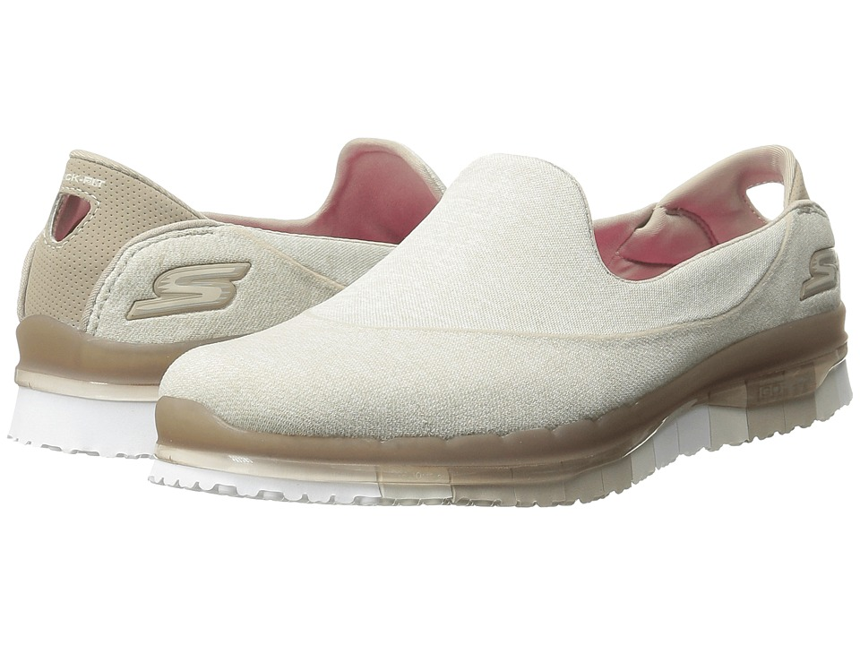 SKECHERS Performance - Go Flex (Taupe) Women's Shoes