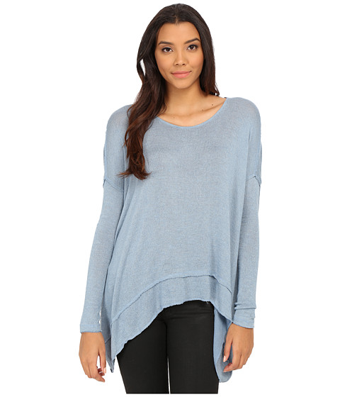 Free People - Shadow Hacci (Sky Blue) Women's T Shirt