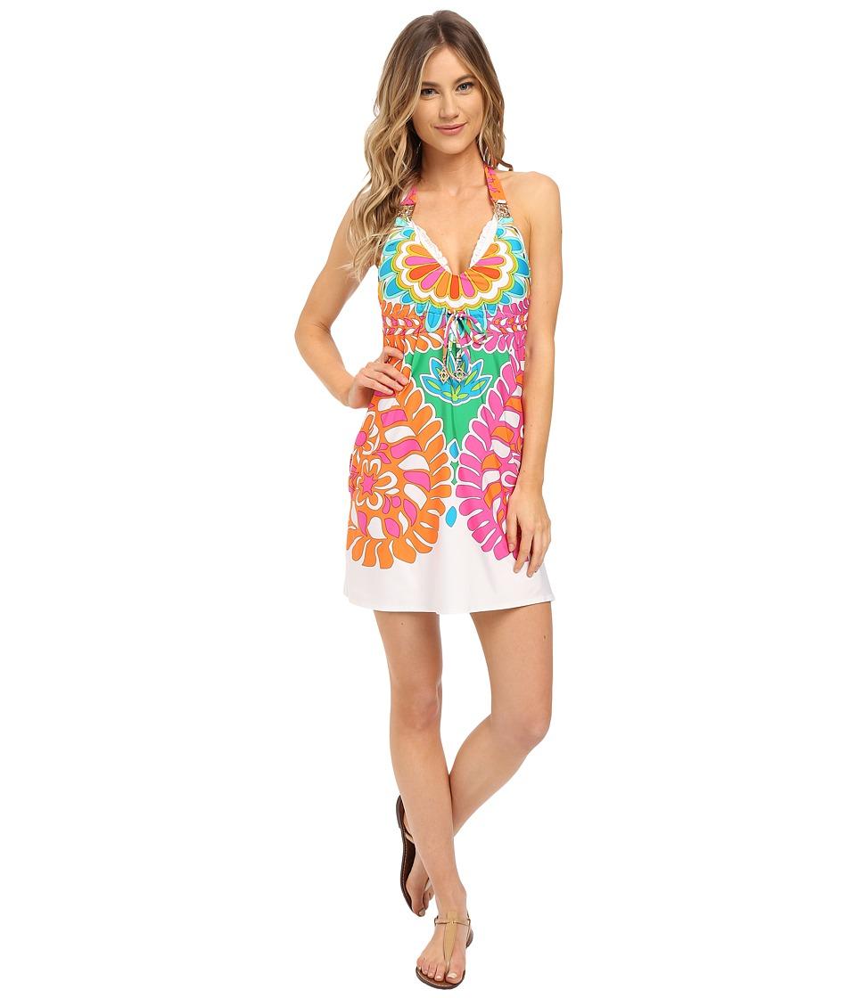 Trina Turk - Tamarindo Short Dress Cover-Up (Multi) Women's Swimwear