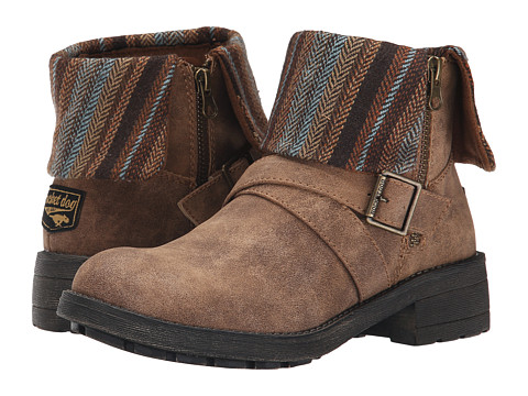 Rocket Dog - Tobie (Brown Suspect/Tweedy Pie) Women's Boots