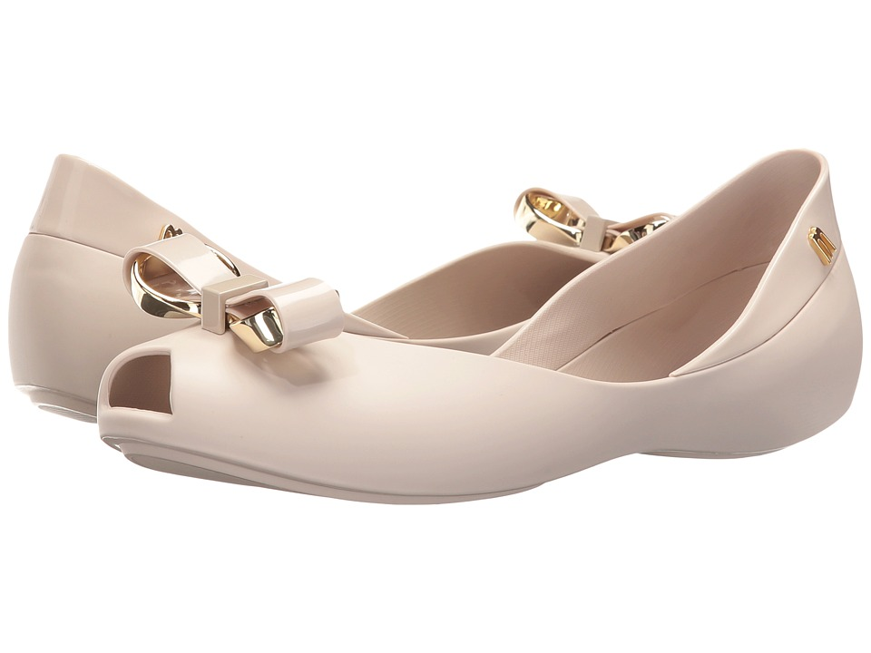 Melissa Shoes - Queen IV (Beige) Women's Dress Sandals