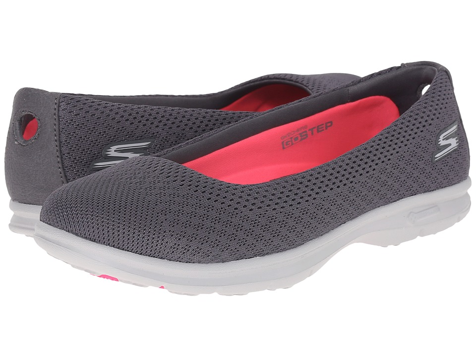 SKECHERS Performance - Go Step - Primary (Charcoal) Women's Walking Shoes