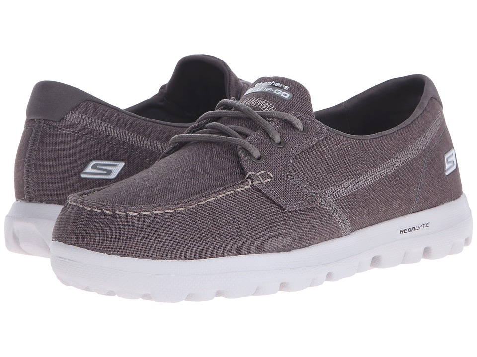 SKECHERS Performance - On the Go Continental (Charcoal) Men's Shoes