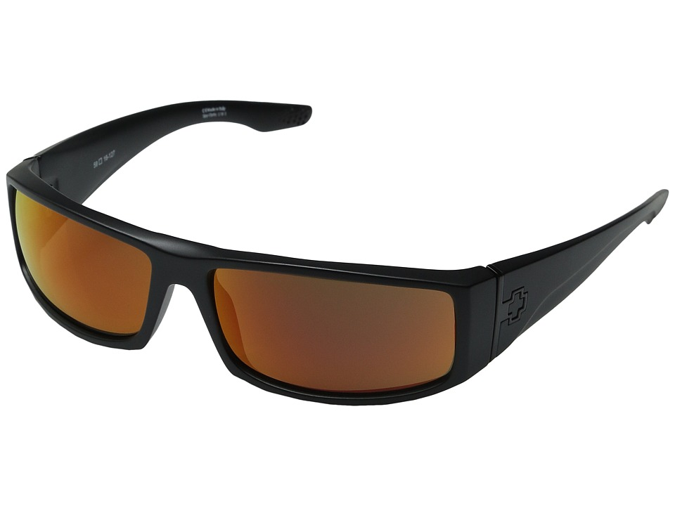 Spy Optic - Cooper (Cooper Matte Black) Plastic Frame Sport Sunglasses