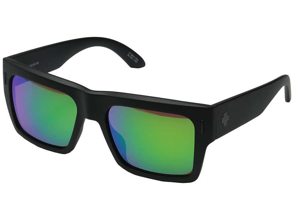 Spy Optic - Bowery (Bowery Matte Black) Sport Sunglasses