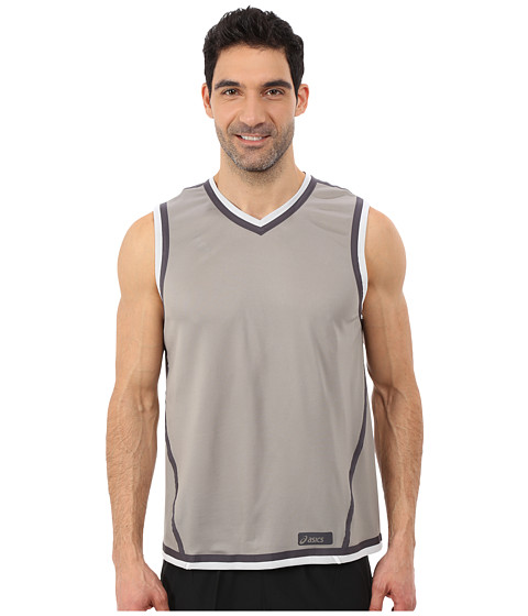 ASICS - Training Reversible Sleeve Top (White/Frost) Men