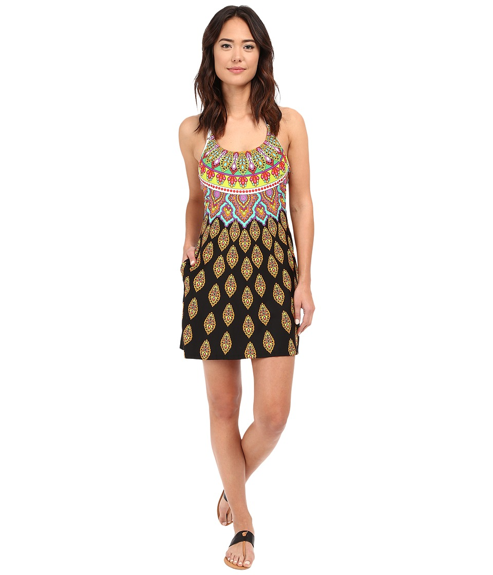 Trina Turk - Moroccan Medallion Short Dress Cover-Up (Multi) Women's Swimwear