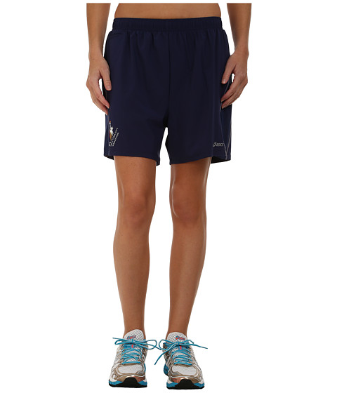 ASICS - Marathon Distance Shorts (True Navy/Slate) Men