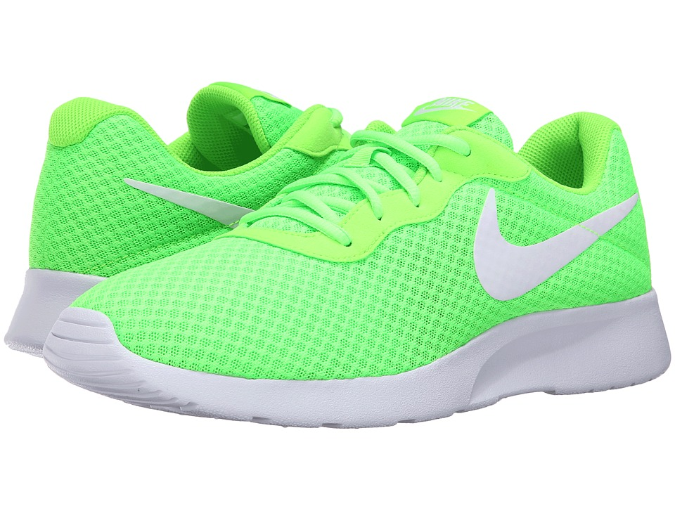 Nike - Tanjun (Electric Green/White) Men's Running Shoes