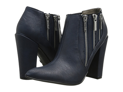 Michael Antonio - Joelle (Navy) Women's Zip Boots