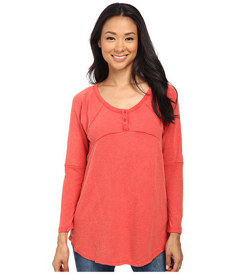Volcom - Game Off Top (Blood Red) Women's Clothing