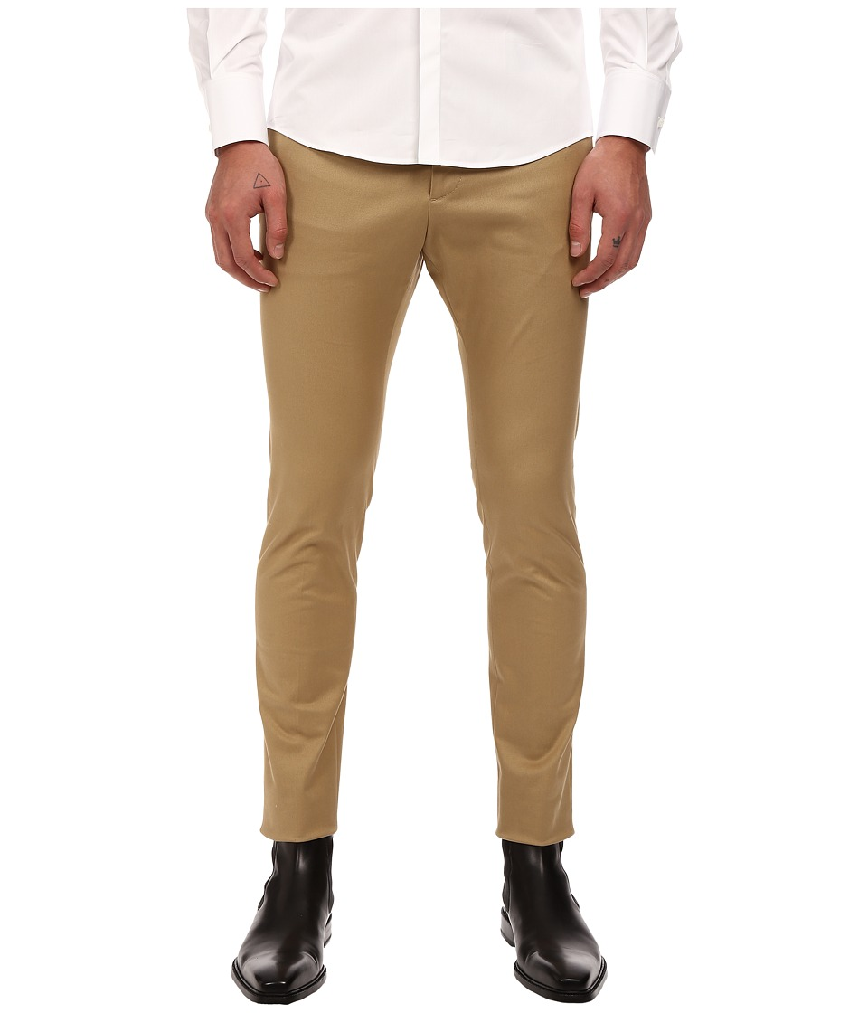 DSQUARED2 - Cool Guy Stretch Twill Pants (Beige) Men's Casual Pants