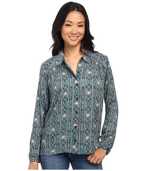 Volcom - In My Eyes Long Sleeve Top (Evergreen) Women
