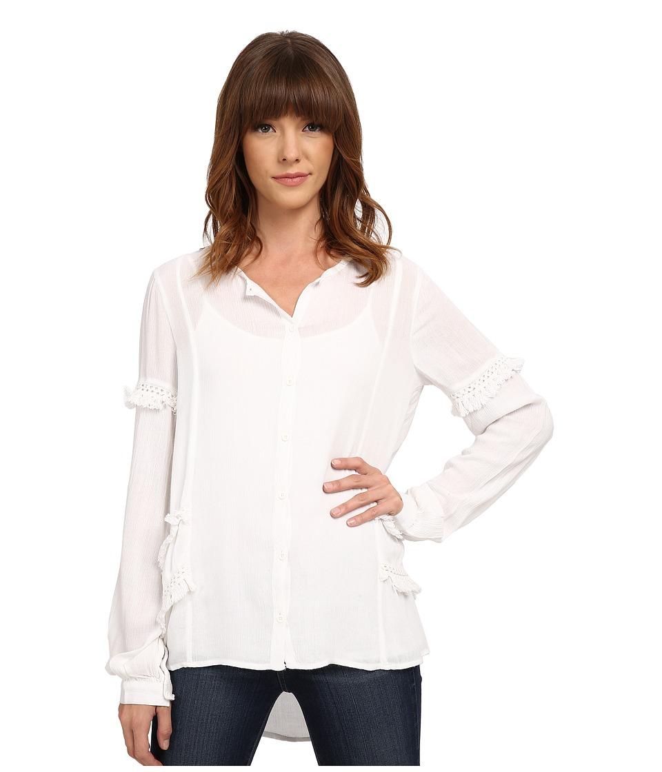Volcom - Haute Love Top (White) Women's Clothing