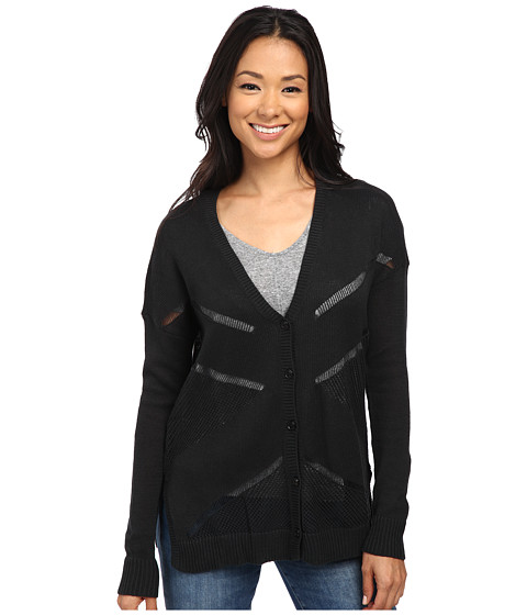 Volcom - Reflections Cardigan (Black) Women