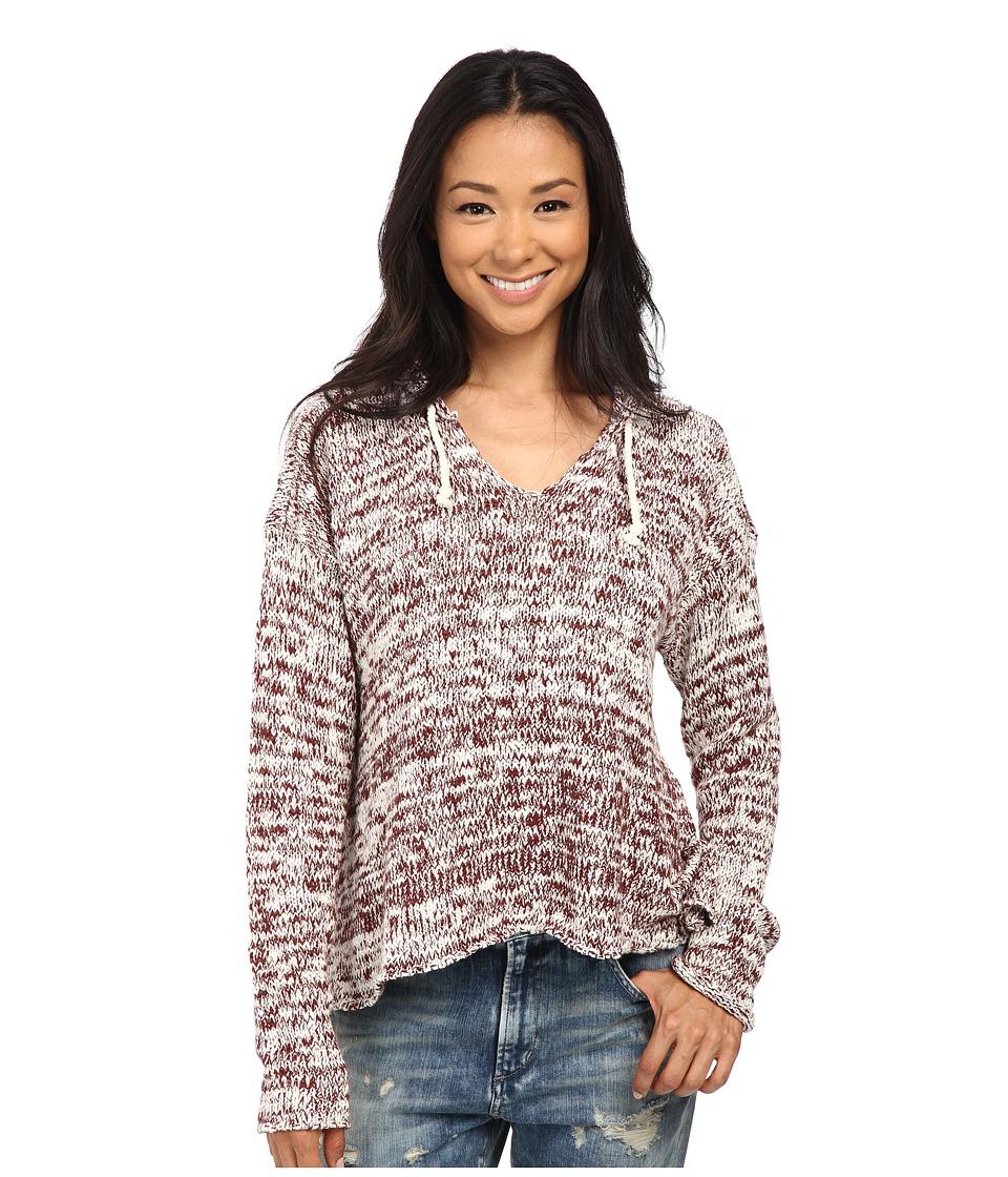 Volcom - Violet Haze Hoodie (Cognac) Women's Sweatshirt