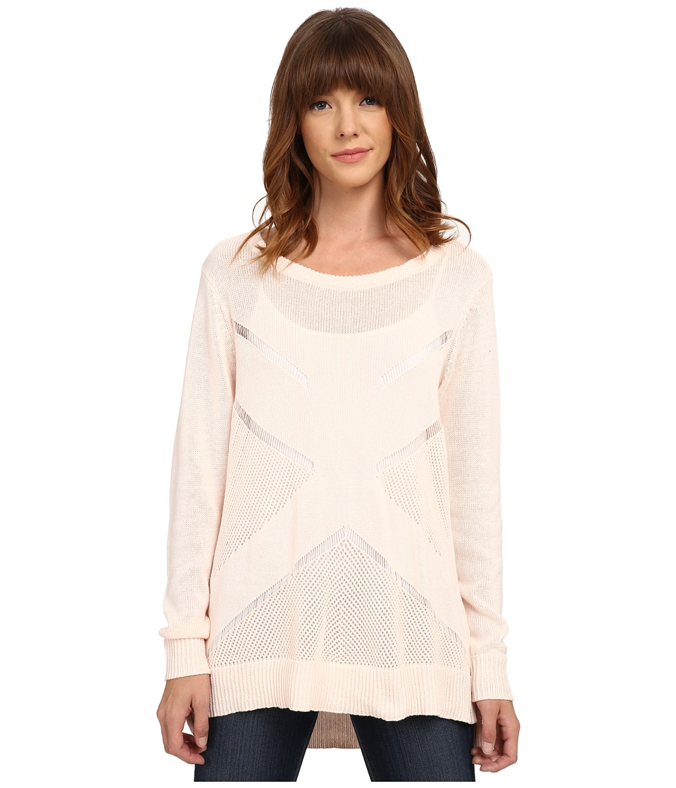 Volcom - Reflections Crew (Cloud Pink) Women's Clothing