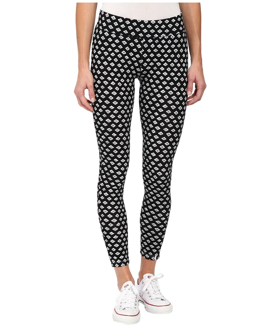 Volcom - Quilted Mind Leggings (Black) Women's Casual Pants