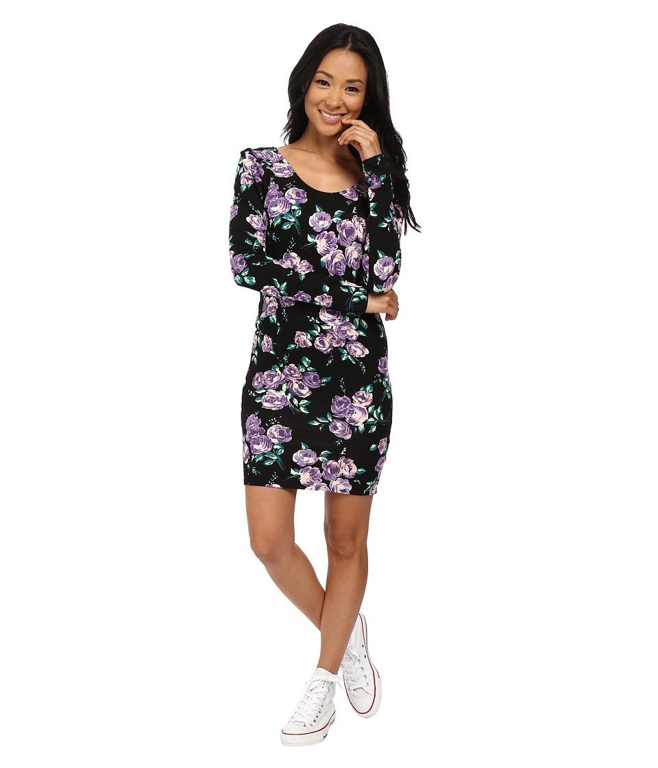 Volcom - Anytime Dress (Purple Flash) Women's Dress