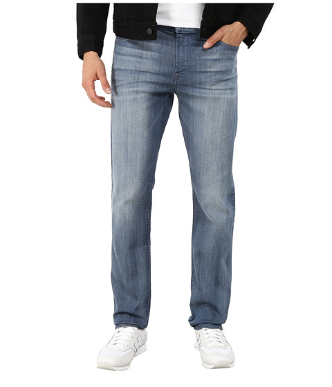 7 For All Mankind - Slimmy Slim Straight Jeans in Genesis (Genesis) Men