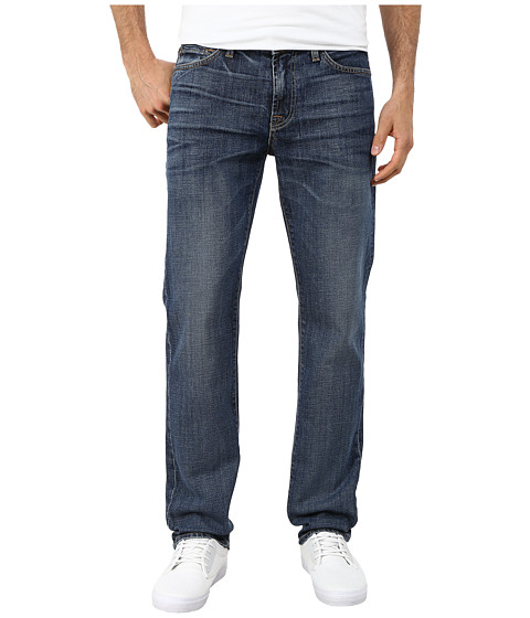 7 For All Mankind - Slimmy Slim Straight Jeans in Sierra Mirage (Sierra Mirage) Men