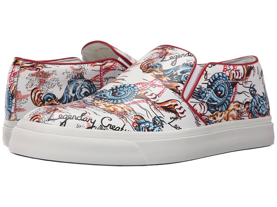 Alexander McQueen - Printed Skate Sneaker (Multi) Men's Shoes