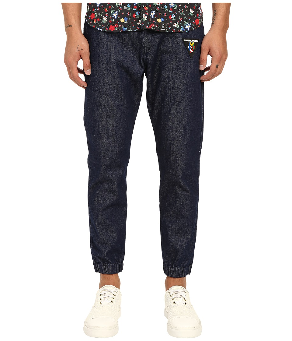 LOVE Moschino - Denim Jogger (Denim) Men's Jeans