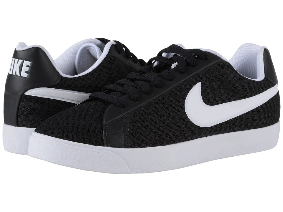 Nike - Court Royale Flow TXT (Black/White) Men's Shoes
