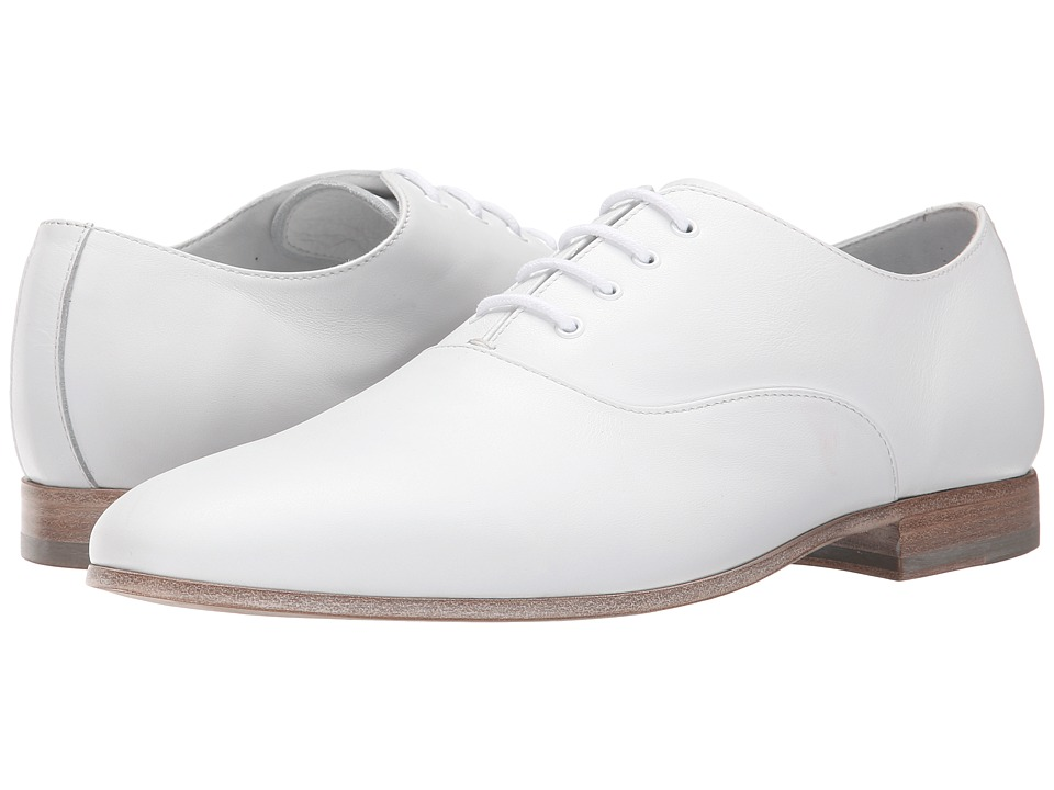 Alexander McQueen - Oxford (White) Men's Shoes