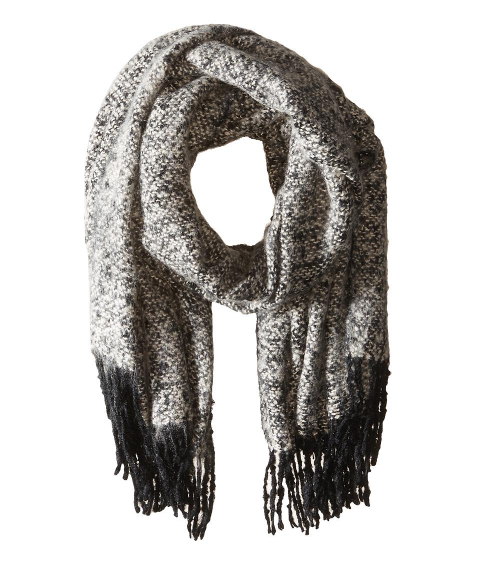 Bindya - Brandy Wrap (Grey Black) Scarves