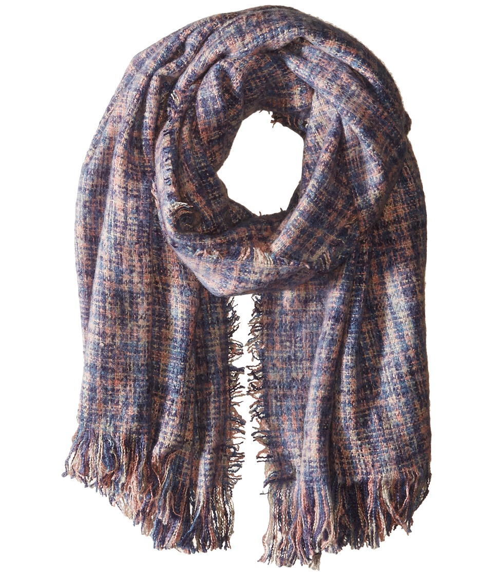 Bindya - Abigail Wrap (Purple/Blue) Scarves