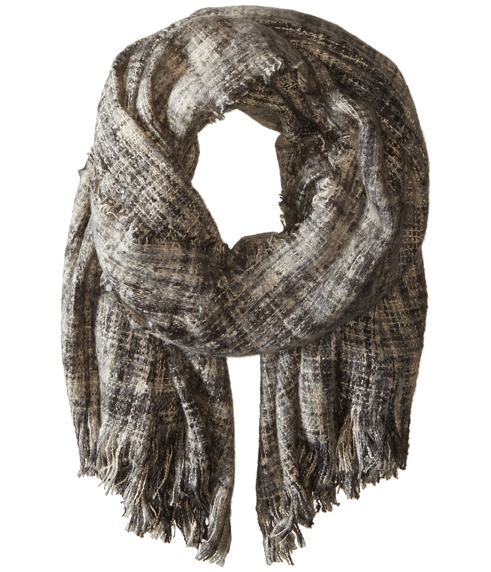 Bindya - Abigail Wrap (Grey Black) Scarves