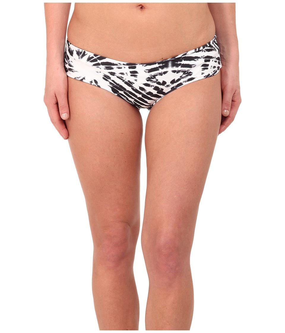 MIKOH SWIMWEAR - Bondi Medium Coverage Bottom (Wave Night) Women's Swimwear