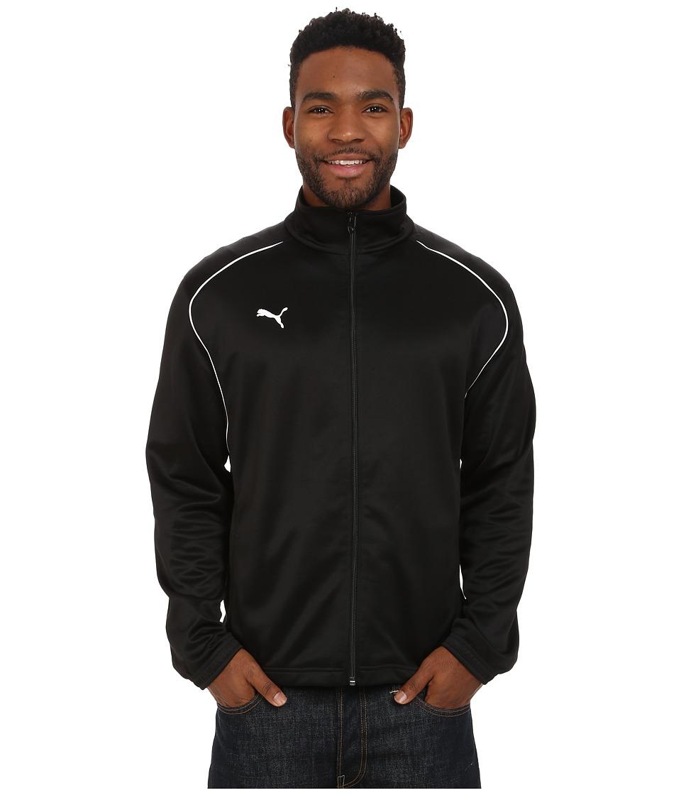 PUMA - V 5.08 Training Jacket USA (Black/White) Men
