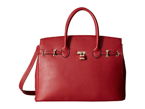 Gabriella Rocha - Morgan Purse with Lock (Red) Wallet Handbags