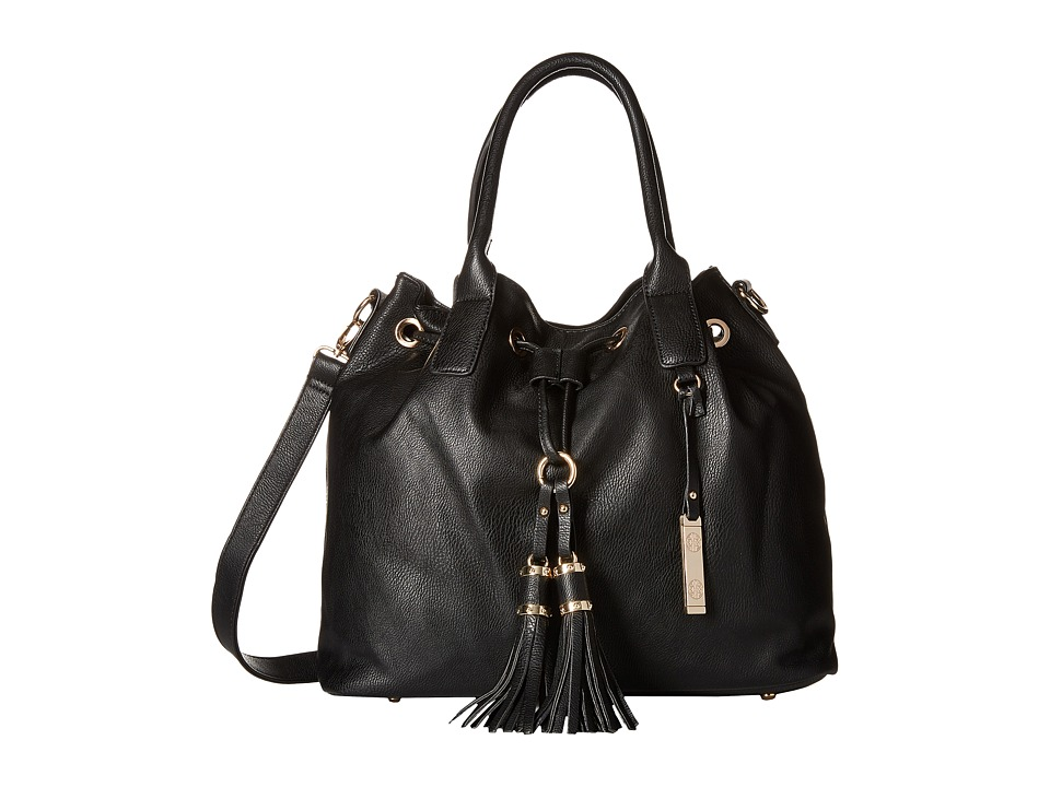Gabriella Rocha - Madelyn Purse with Tassels (Black) Tote Handbags