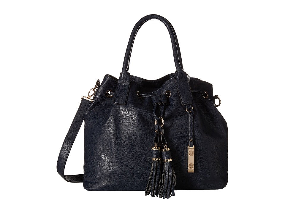 Gabriella Rocha - Madelyn Purse with Tassels (Navy) Tote Handbags