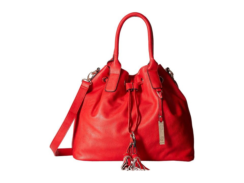 Gabriella Rocha - Madelyn Purse with Tassels (Red) Tote Handbags