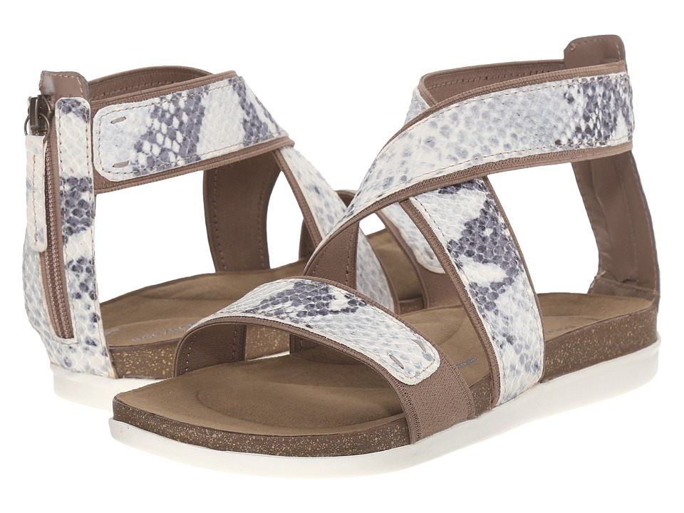 Rockport - Total Motion Romilly Back Zip Sandal (Roccia) Women's Sandals