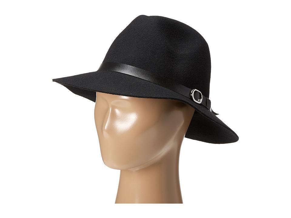 Gabriella Rocha - Heidi Felt Hat with Belt (Black) Caps