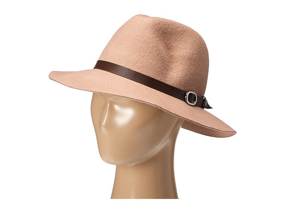 Gabriella Rocha - Heidi Felt Hat with Belt (Cream) Caps