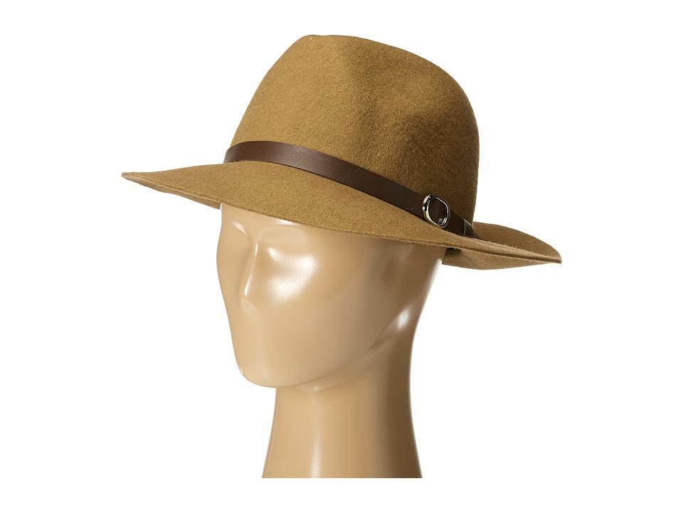 Gabriella Rocha - Heidi Felt Hat with Belt (Tan) Caps