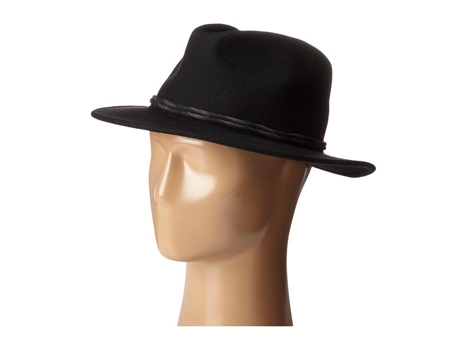 Brixton - Corbet Fedora (Black) Fedora Hats