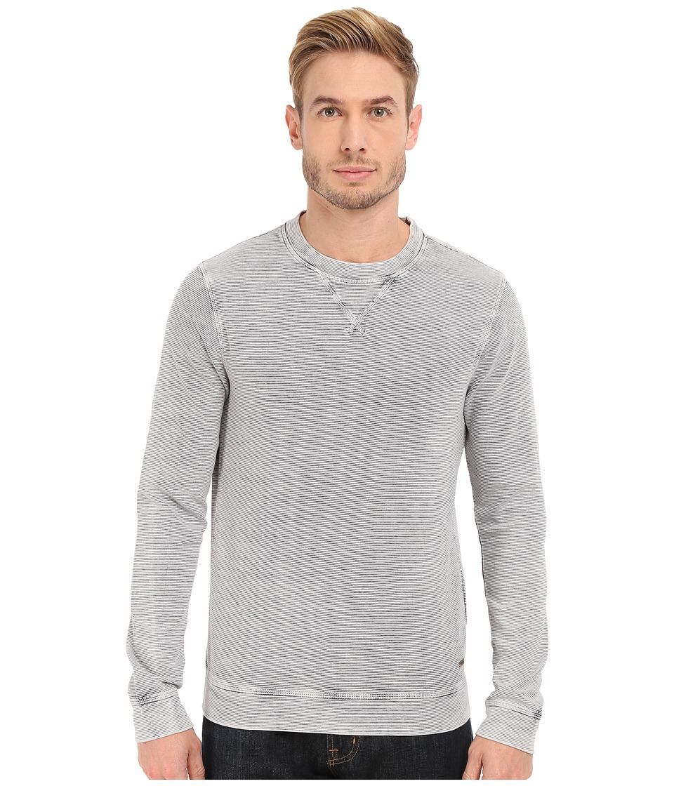 BOSS Orange - Westival Sweatshirt 10189556 01 (Open White) Men's Sweatshirt